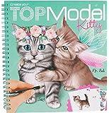 Album coloriage TOP Model modèle Create your Kitty (chat) modèle Lucy et Mr. Bob