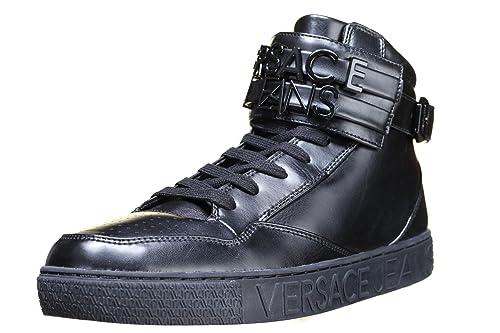 Versace Jeans - Zapatillas de Deporte Hombre, Negro (Negro), 41: Amazon.es: Zapatos y complementos