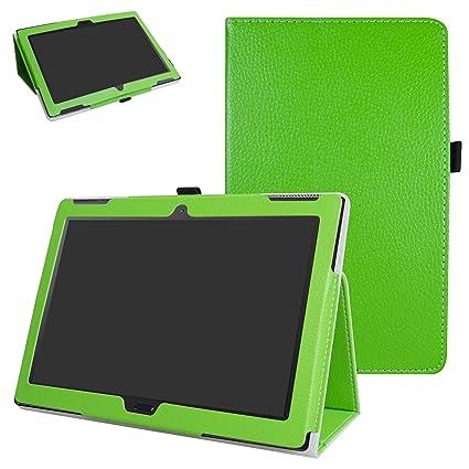 reputable site 3bcb1 10f92 Amazon.com: Lenovo Moto tab X704A Case,Mama Mouth PU Leather Folio 2 ...