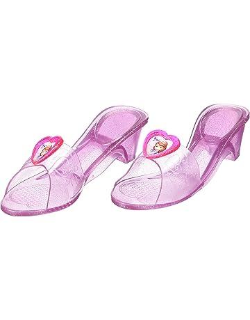 678d43e8 Princesas Disney - Zapatos de Princesa Sofía para niñas, disfraz infantil -  Talla 4-