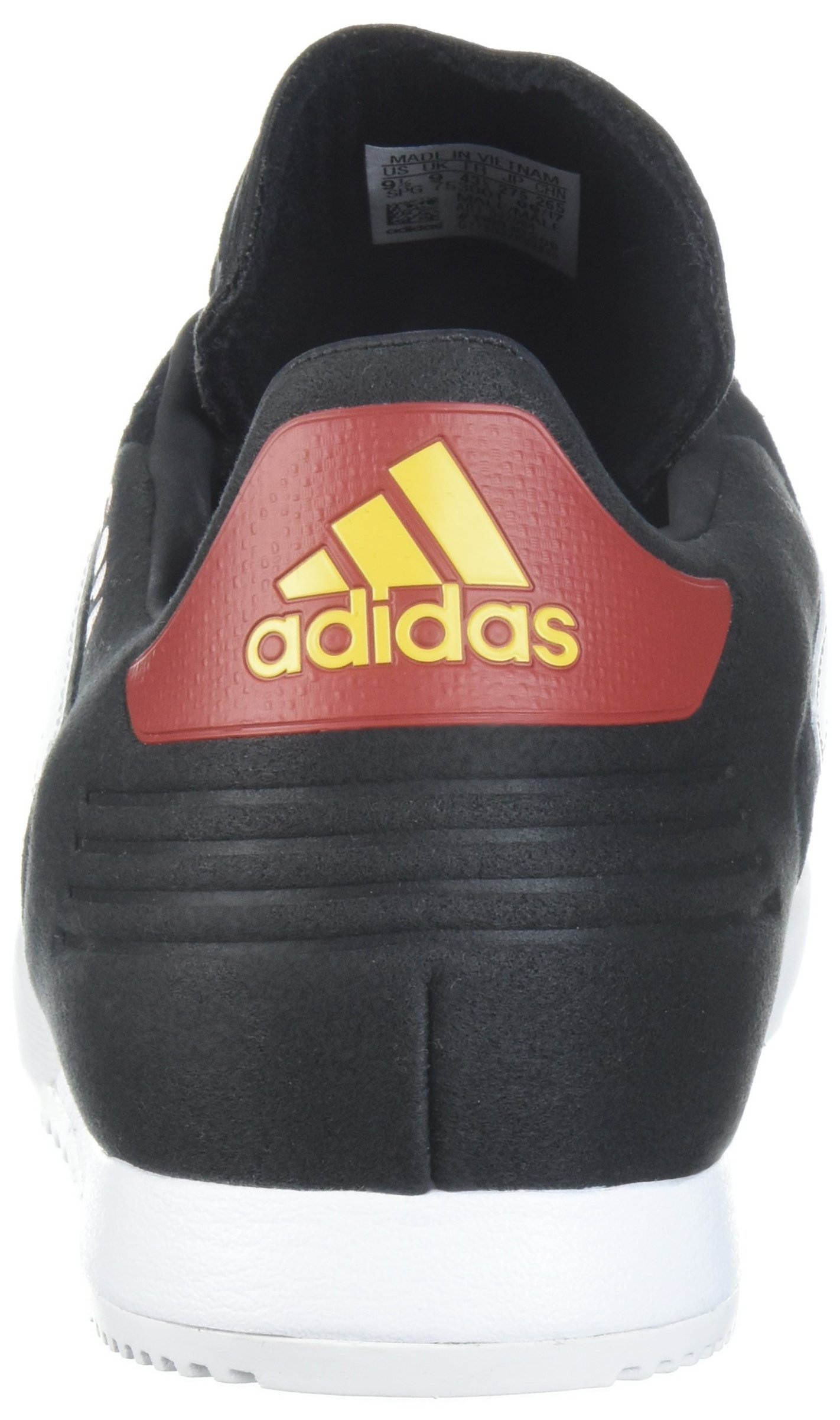 adidas Men's Copa Super Soccer Shoe, Black/White/Power Red, 9 M US by adidas (Image #2)