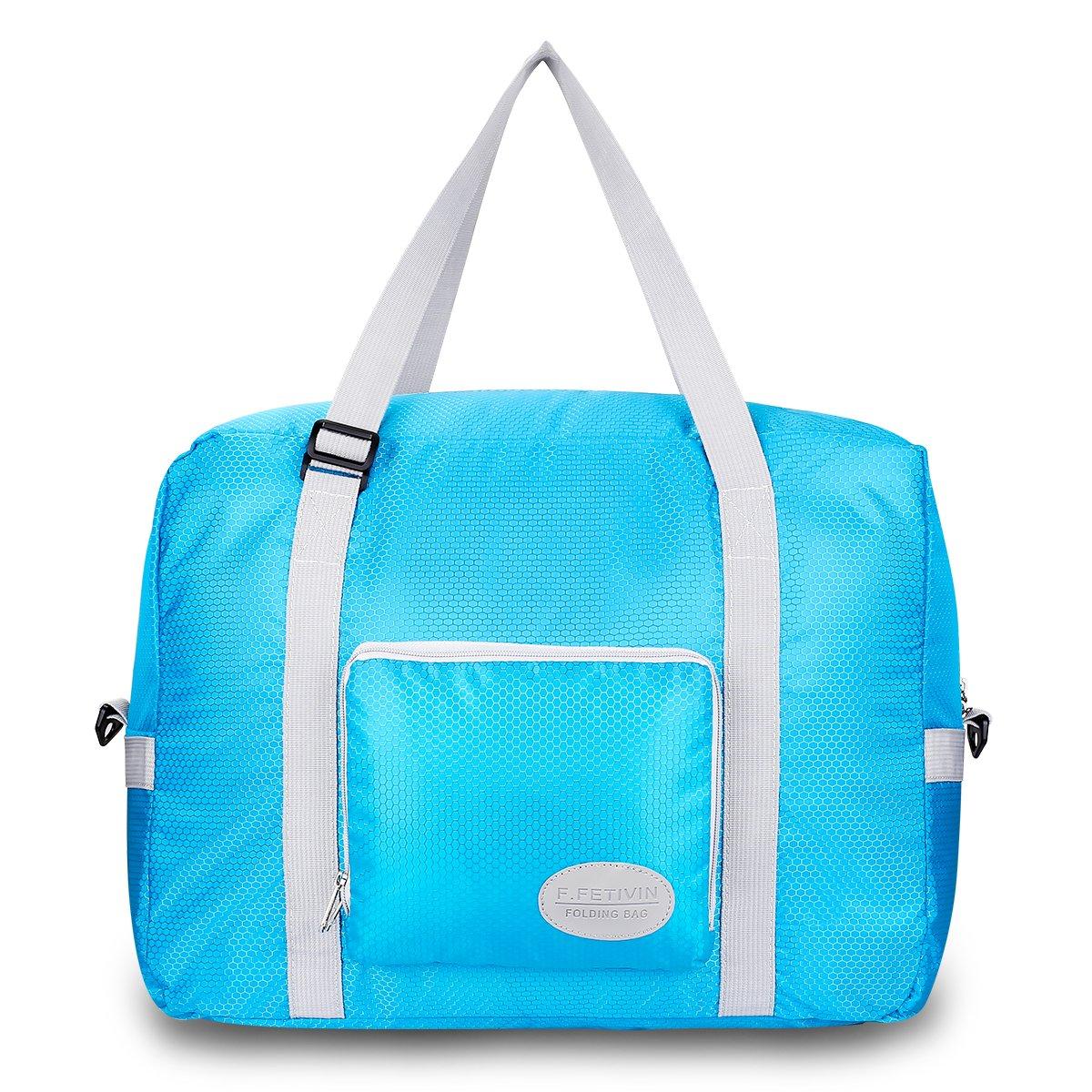 Lightweight Carry Storage Luggage Tote Duffel Bag. Travel Foldable Waterproof Duffel Bag