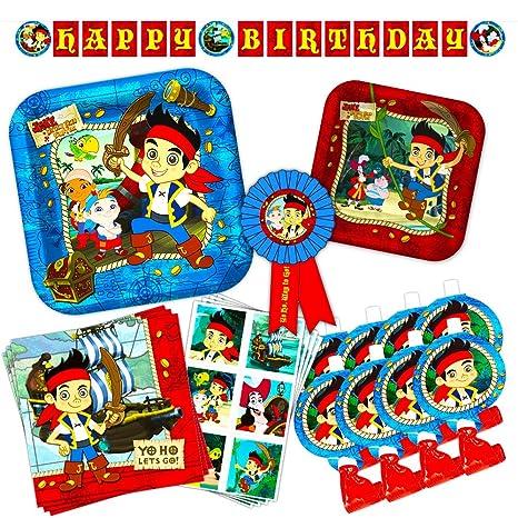 Amazon Com Disney Junior Jake And The Neverland Pirates Party