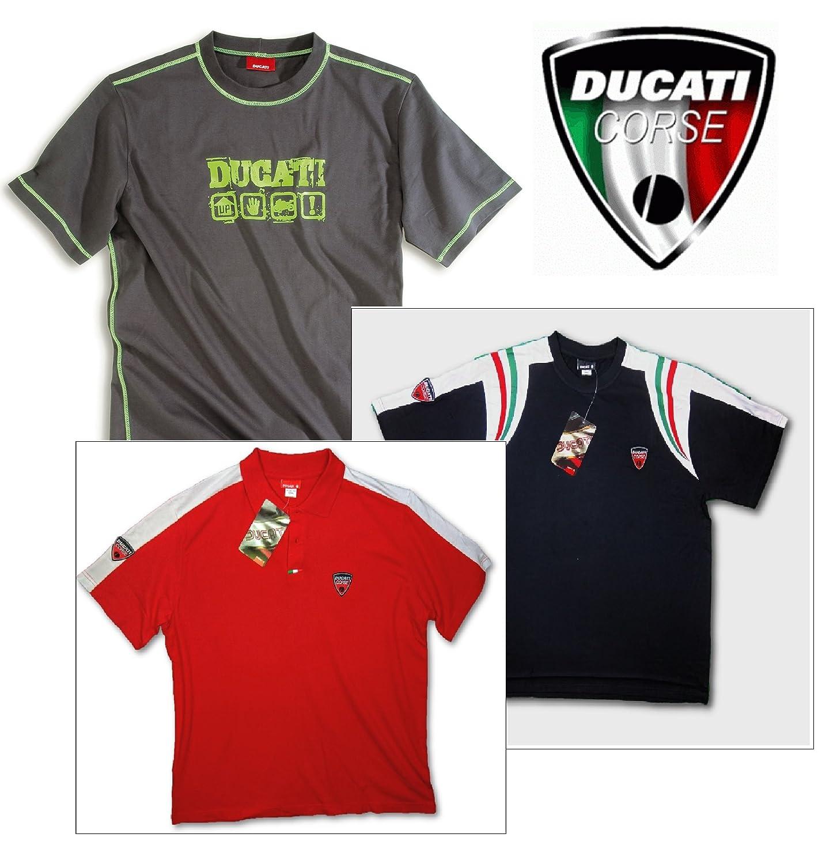 Ducati MotoGP Moto motocicleta - Camiseta para hombre 3 Value Pack ...