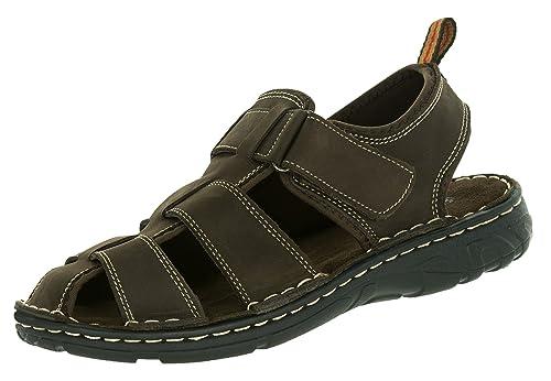 big sale 897b0 7e51d Beppi Trekking-Sandale Robust Wander-Schuh | Luftiger Sommerschuh Herren  Leder | Abriebfeste Sohle | Braun