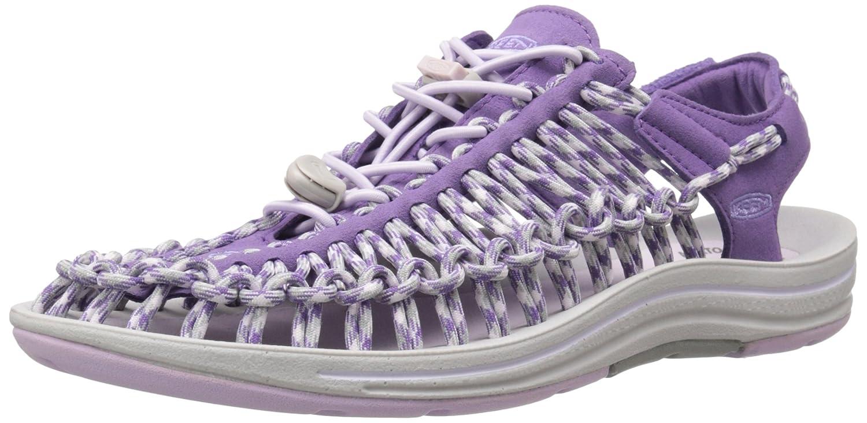 KEEN Women's Uneek 8MM Sandal B00ZG30FXI 5 B(M) US Purple Heart/Lavender Fog