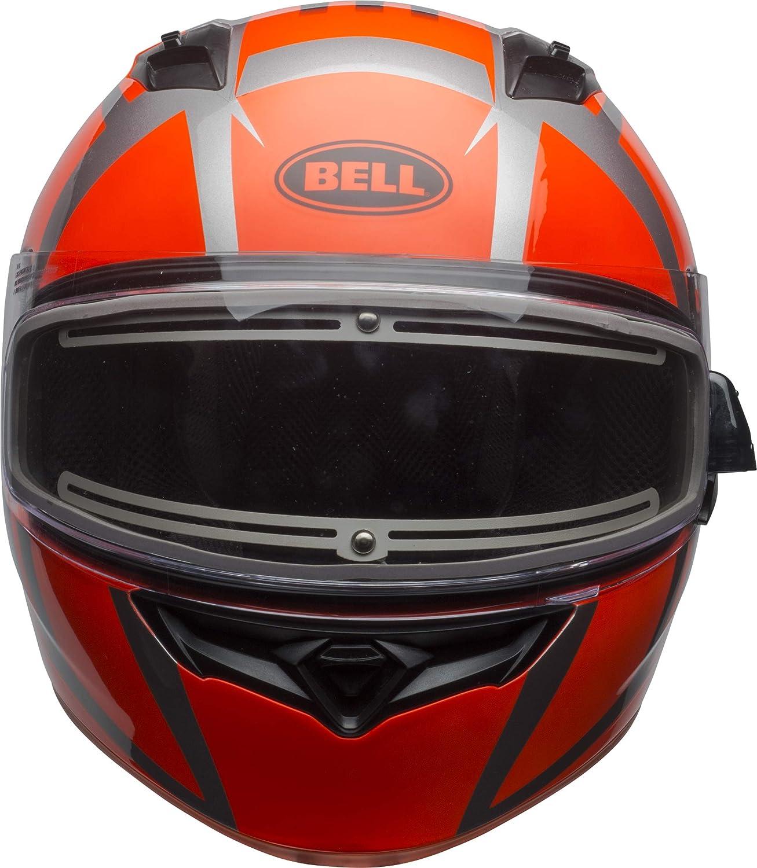 Blaze Gloss Yellow//Titanium, Small Bell Qualifier Electric Shield Snow Helmet