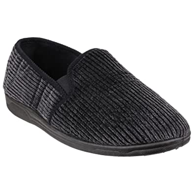 871fbbb8fc0b Cotswold Mens Richard Closed Back Slippers  Amazon.co.uk  Shoes   Bags