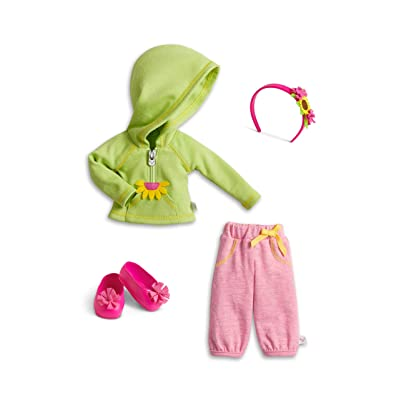 American Girl WellieWishers Hugs & Well Wishes Outfit for Dolls: Toys & Games