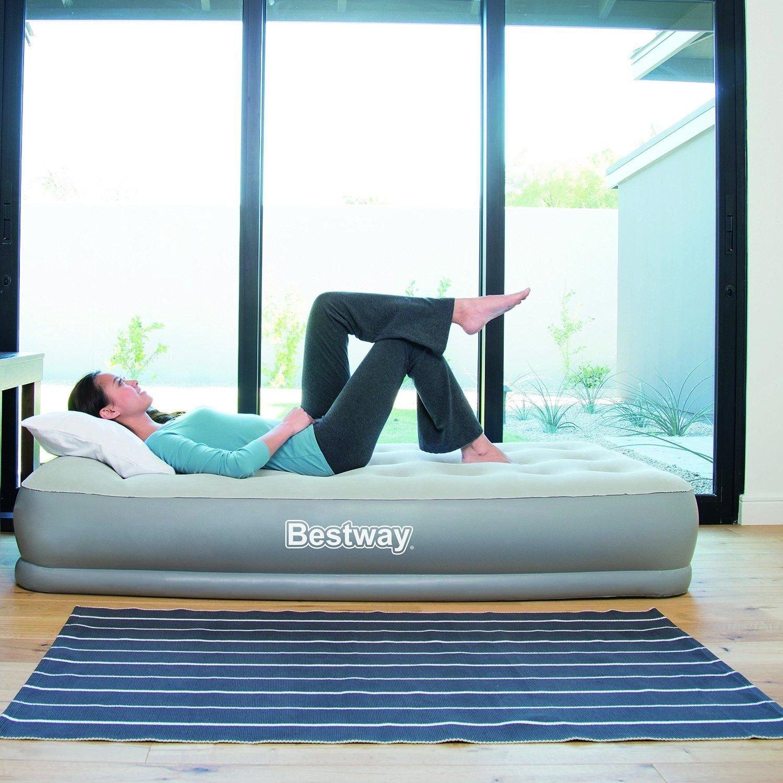 Bestway Comfort Quest Restaira hinchable suave cama de aire con ...