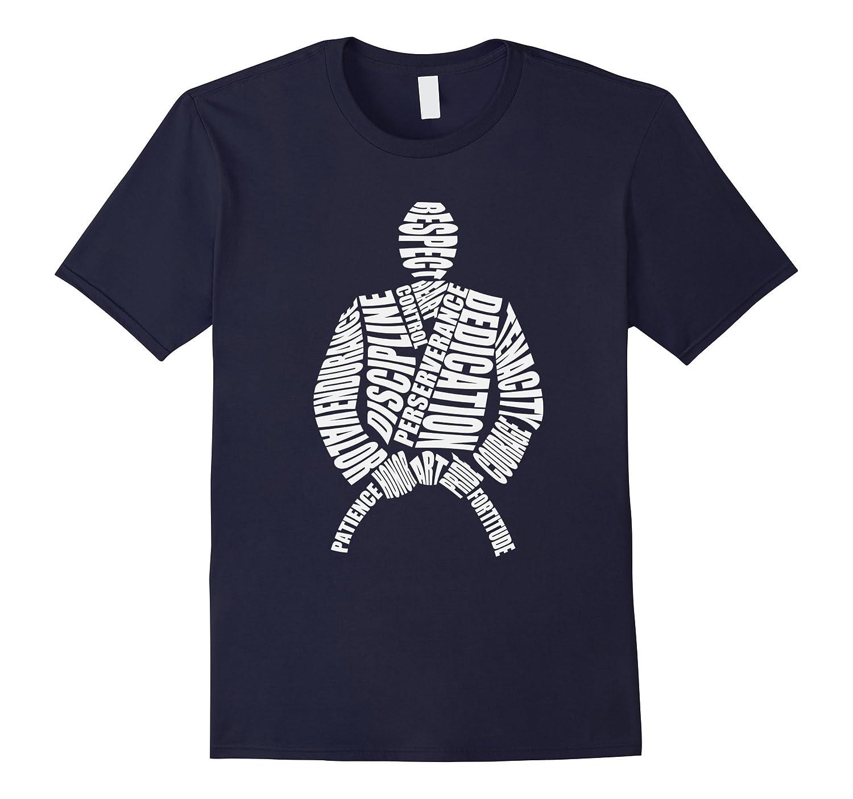BJJ Brazilian Jiu Jitsu Word Cloud T-Shirt-Vaci