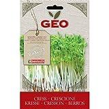 Geo ZXC5003 Crescione Semi da Germoglio, Marrone