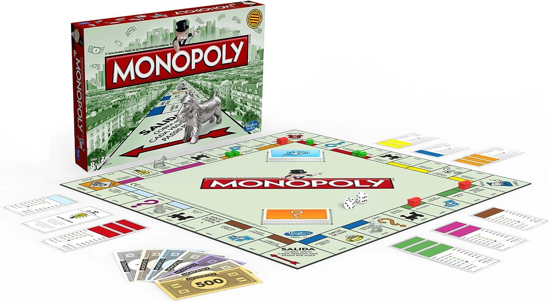 Hasbro Juegos en Familia Monopoly Std Barcelona 00009118: Amazon ...