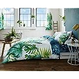 superb cotton usa queen 230 x 220cm uk king size pink blue rose floral. Black Bedroom Furniture Sets. Home Design Ideas