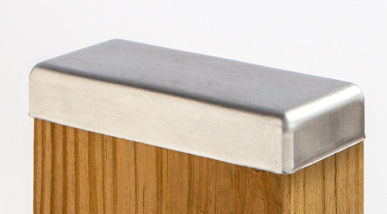 Standard Galvanized Post Cap 2x4 (1-1/2