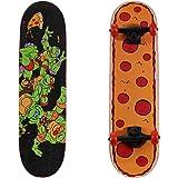 """PlayWheels Teenage Mutant Ninja Turtles 28"""" Skateboard, Radical Pizza"""