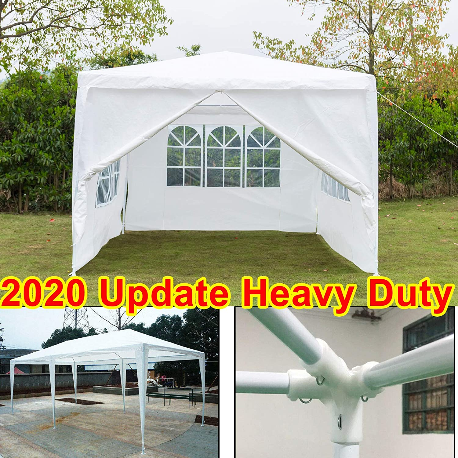 3 x 3 Metres Fully Waterproof Gazebo Tent Marquee Awning