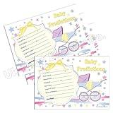 Baby Shower Prediction Cards Game/Keepsake (20 Pack) - From Unisex Stars Range