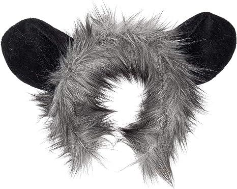 Black N/' White Skunk Adult Kit Headpiece Ears Tail Animal Set Costume Accessory