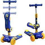 Amazon.com: Scooter - Pedal ancho para niños, desmontable ...
