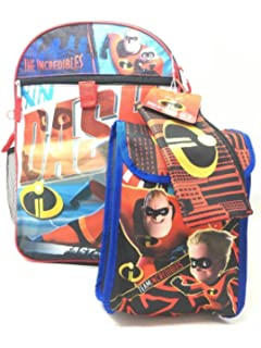 Character Super 5-Piece Backpack Set (Incredibles)