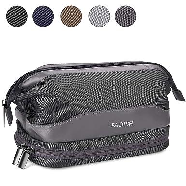 Amazon.com: KUSOOFA - Bolsa de aseo para viajes, organizador ...