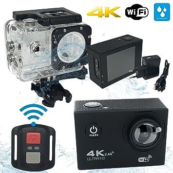 Cámara Deportiva Action Cam Mycam4 WIFI 4K full HD cámara de acción deportiva Full HD 16 ...