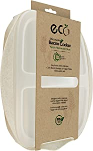 Handy Gourmet Eco Friendly Microwave Bacon Cooker, Non-Toxic, BPA Free
