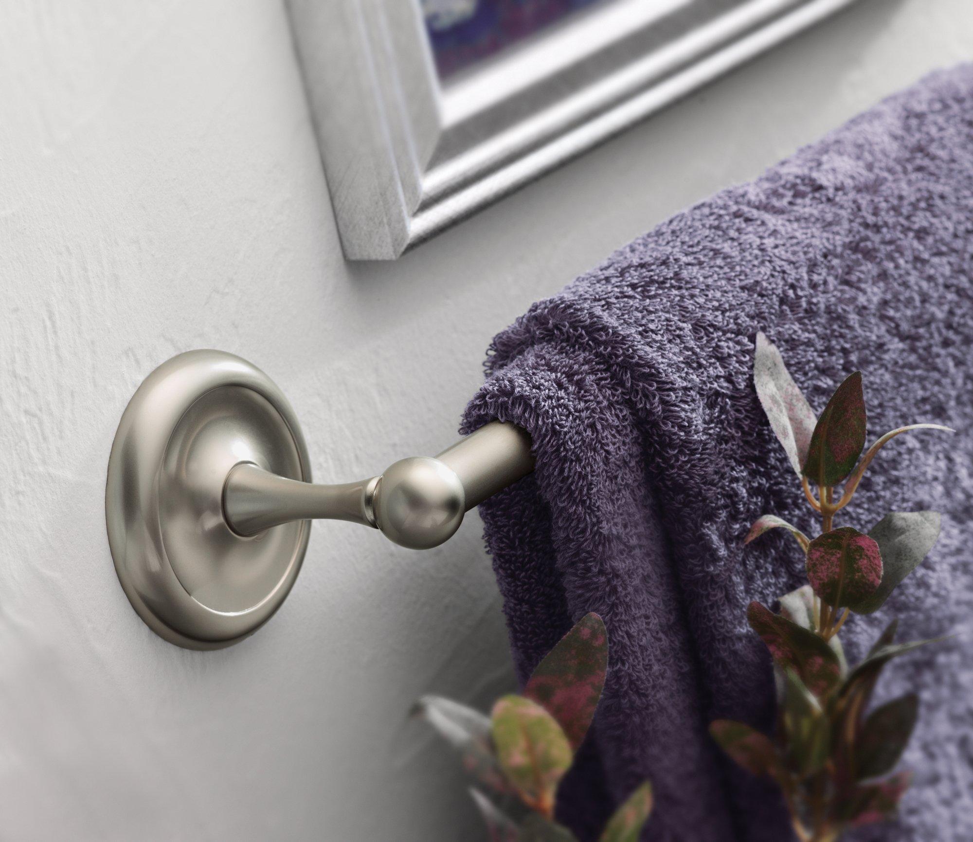 Moen 5324CH Yorkshire 24-Inch Towel Bar, Chrome