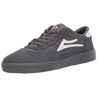 Lakai Footwear Cambridge Grey Suedesize Tennis Shoe, Grey Suede: Shoes