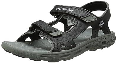 Columbia Youth Techsun Vent Sandal (Little Kid/Big Kid), Black Grey,