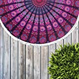 GLOBUS CHOICE INC. Lavender Pink Tapestry Wall