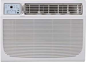 Keystone Energy Star 25,000/24,700 BTU 230V Window/Wall Air Conditioner with Follow Me LCD Remote Control, 25,000, White