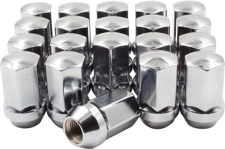 EZAccessory Lug Nuts OEM For Dodge Challenger 14x1.5 Thread Set of 20 Pcs