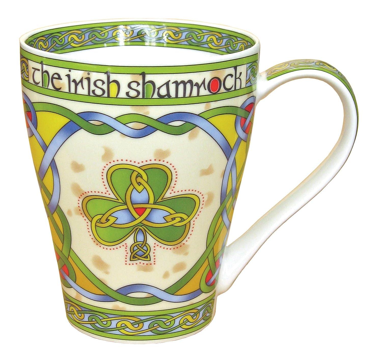 Amazoncom Irish Shamrock China Mug an Irish gift designed in