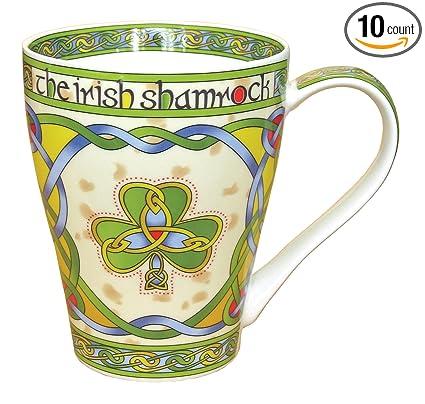 Amazon.com: Clara Irlanda taza de porcelana con irlandés ...
