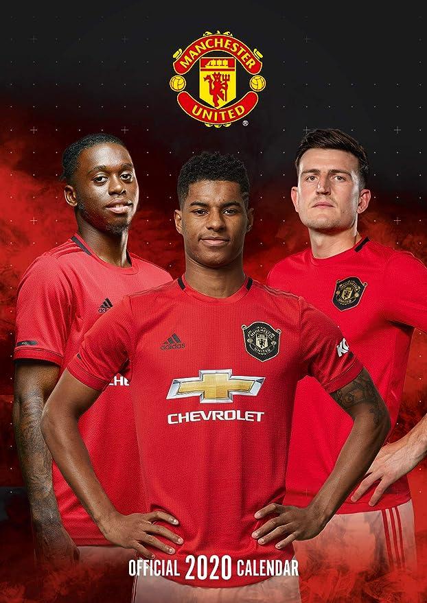 Academic Calendar Utd Fall 2020.Manchester United Fc 12 Month 2020 Wall Calendar Official A3