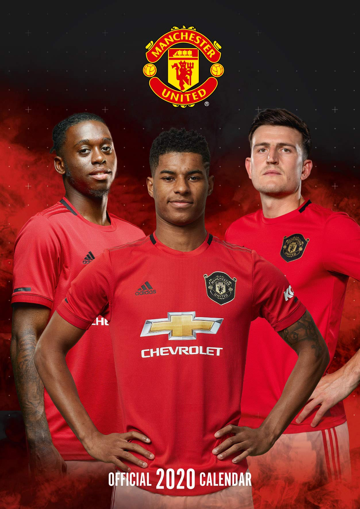 The Official Manchester United Calendar 2020 United Manchester 9781838541705 Amazon Com Books