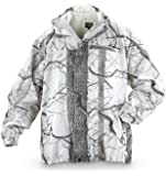 Huntworth Men's Snow Camo Hooded Jacket