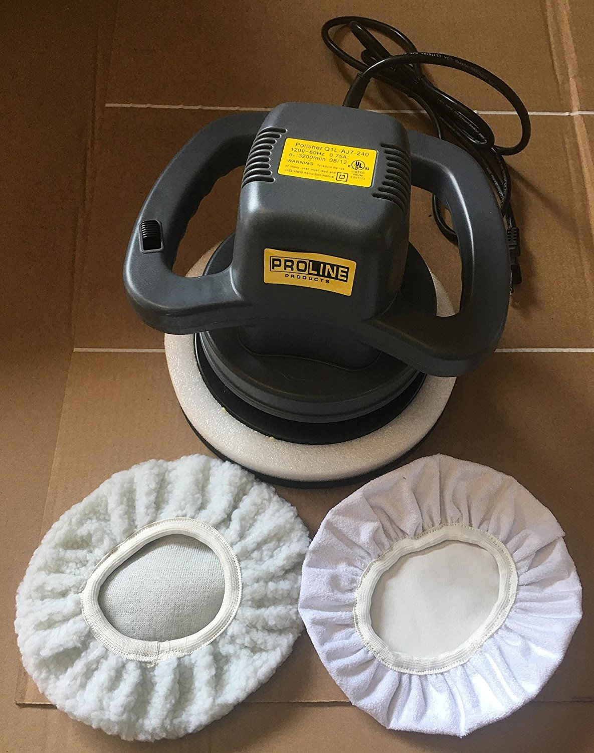 Prolineproduct PWAX10 Orbital Waxer/Polisher