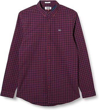 Tommy Hilfiger TJM Gingham Shirt Camisa para Hombre: Amazon.es: Ropa y accesorios