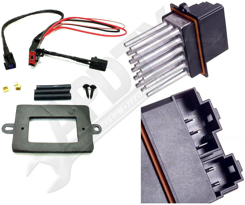 Amazon.com: APDTY 5179985AA & 68052436AA Blower Motor Resistor Power Module  & Wiring Harness Upgrade Kit For 1999-2004 Jeep Grand Cherokee w/ATC  (Automatic ...