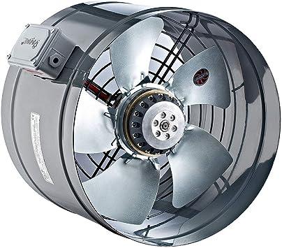 250mm Ventilador Industrial Tubo Canal Extractor Ventilación ...