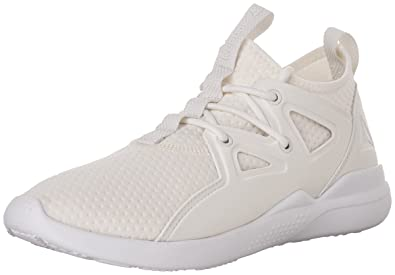 Reebok Women's Fittonasu Dance Shoes, ChalkAmber GoldClassic White,