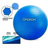 CPOKOH Exercise Ball,Anti Burst and Slip