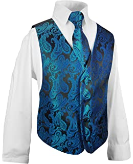 Krawatte Anzug 4-tlg Hose 98 Jungen Gr Hemd Hochzeit Gilet