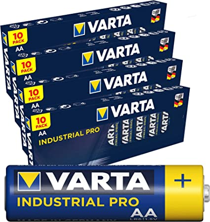 Varta Industrial 4006 Batterien Mignon Aa Lr6 Mn1500 40 Elektronik