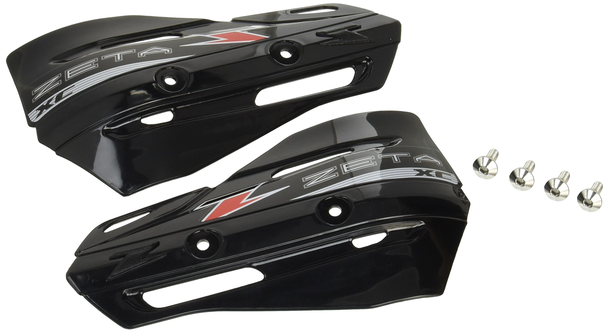 Zeta XC Protector BLACK Hand Shields (Pair) for Armor Handguards