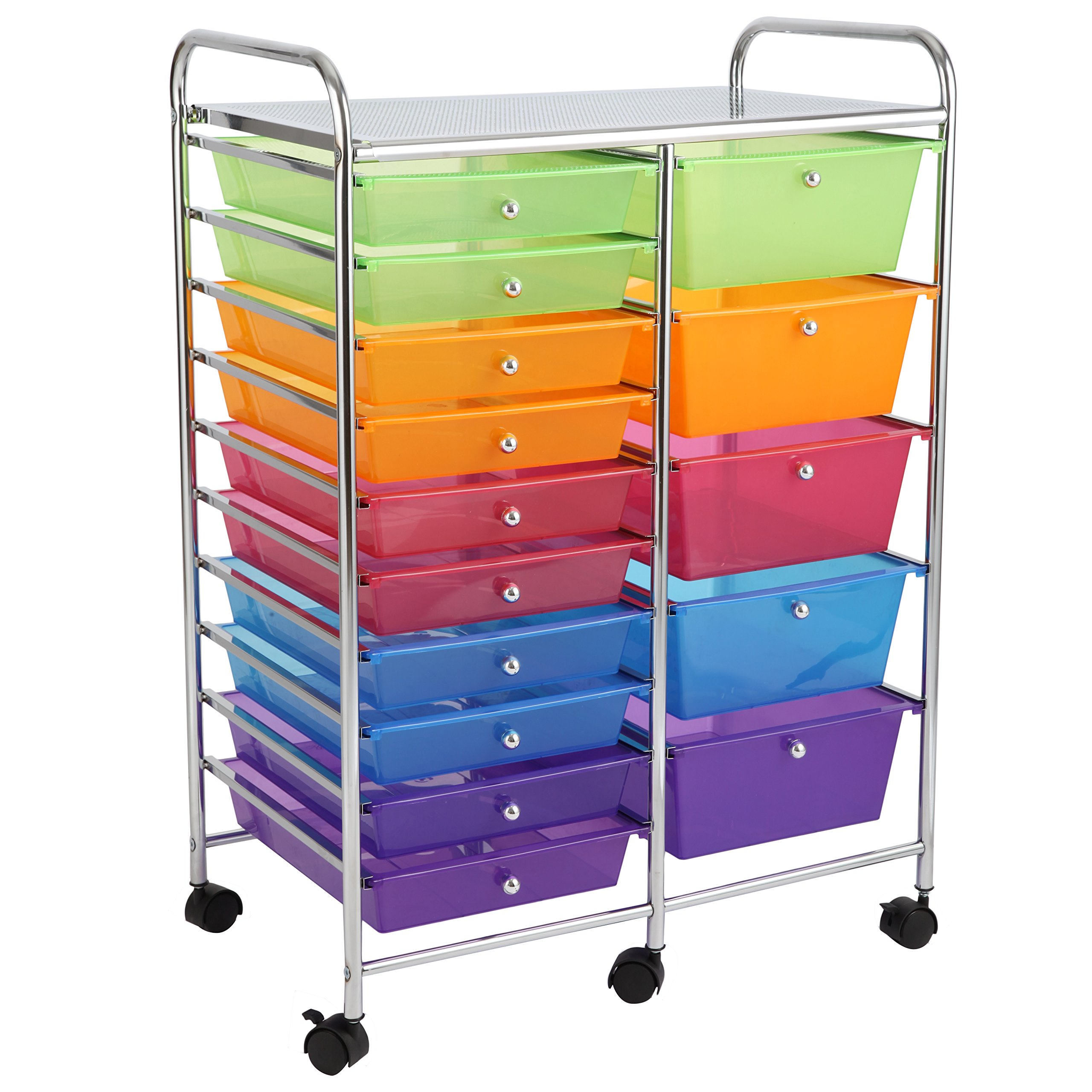 rolling craft organizer the and plastic cart do honey chrome drawers crt white storage can home depot with p
