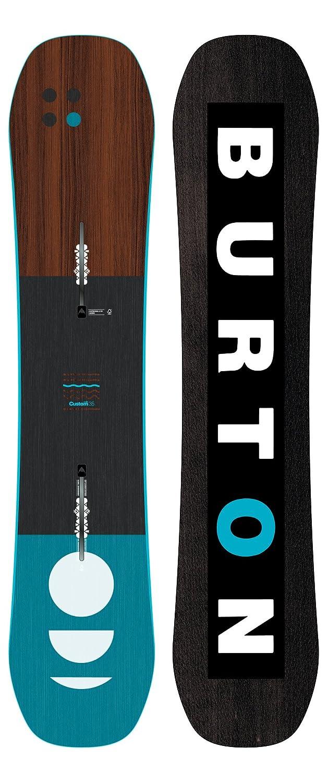 Burton(バートン) スノーボード 板 ジュニア キッズ CUSTOM SMALLS 2018-19年モデル 130~145cm 20195100000 スノボ ハイブリットキャンバー B07B8WGSVS 130cm